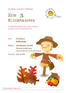 Flyer Elternkaffee 2018